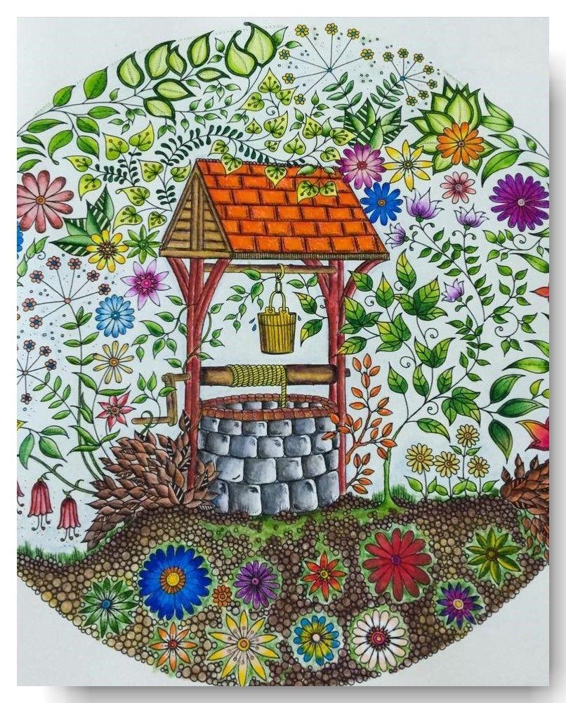 Jardim Secreto 5 Tcnicas De Pintura Parte 2