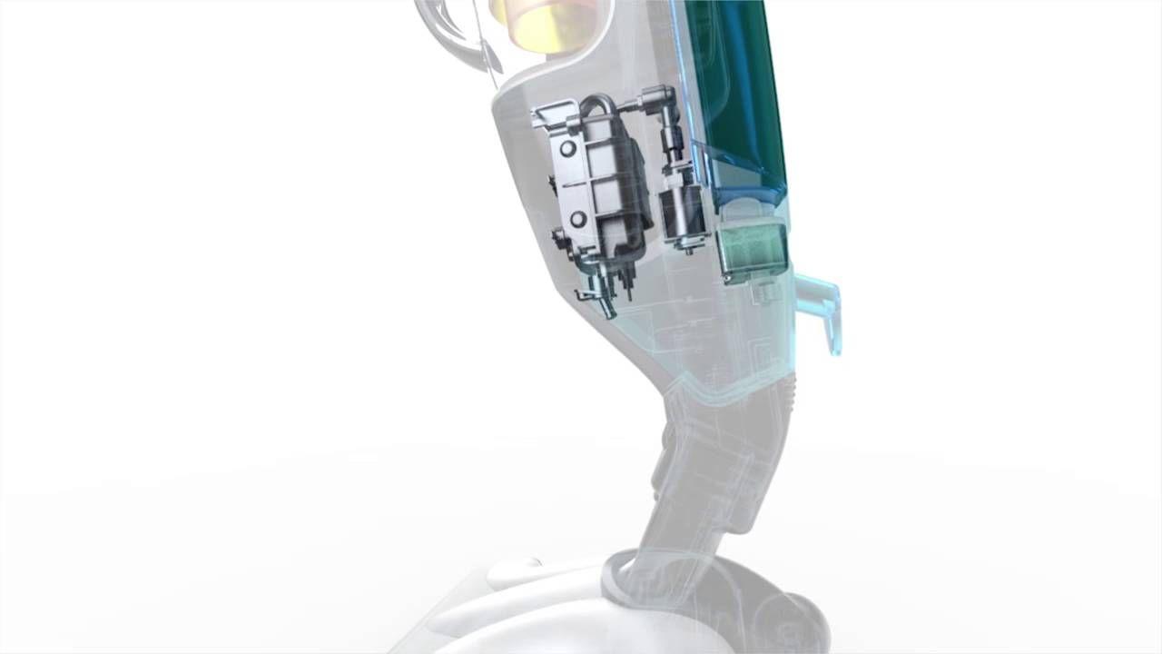 Descubra o sistema de débito de vapor do Clean & Steam que lhe permite higienizar o chão sem usar detergentes!