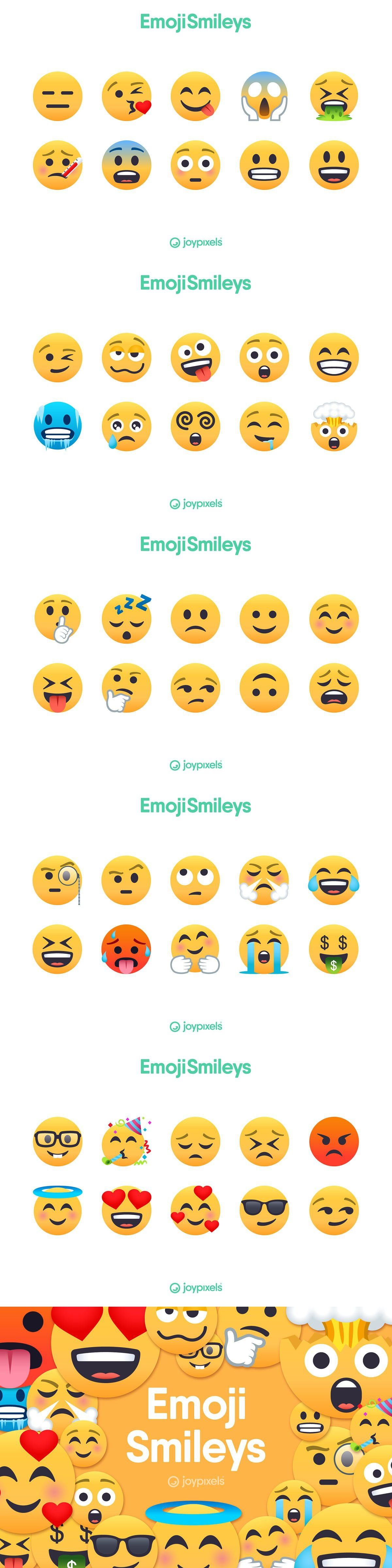 Raised Eyebrow Emoji : raised, eyebrow, emoji, Emoji, Smiley, Icons, JoyPixels®, Face,, Winking