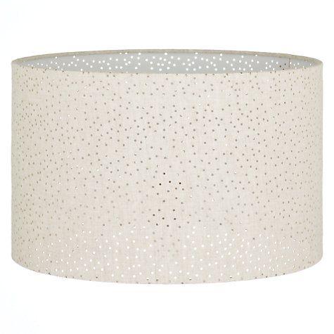 John Lewis Partners Alice Pierced Lampshade Sulphur Ceiling Lamp Shades Linen Shades Lamp Shades