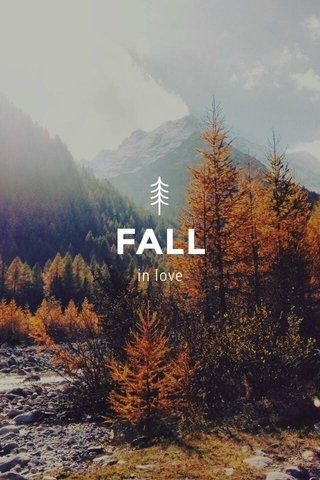 FALL in love: by Manu on @stellerstories