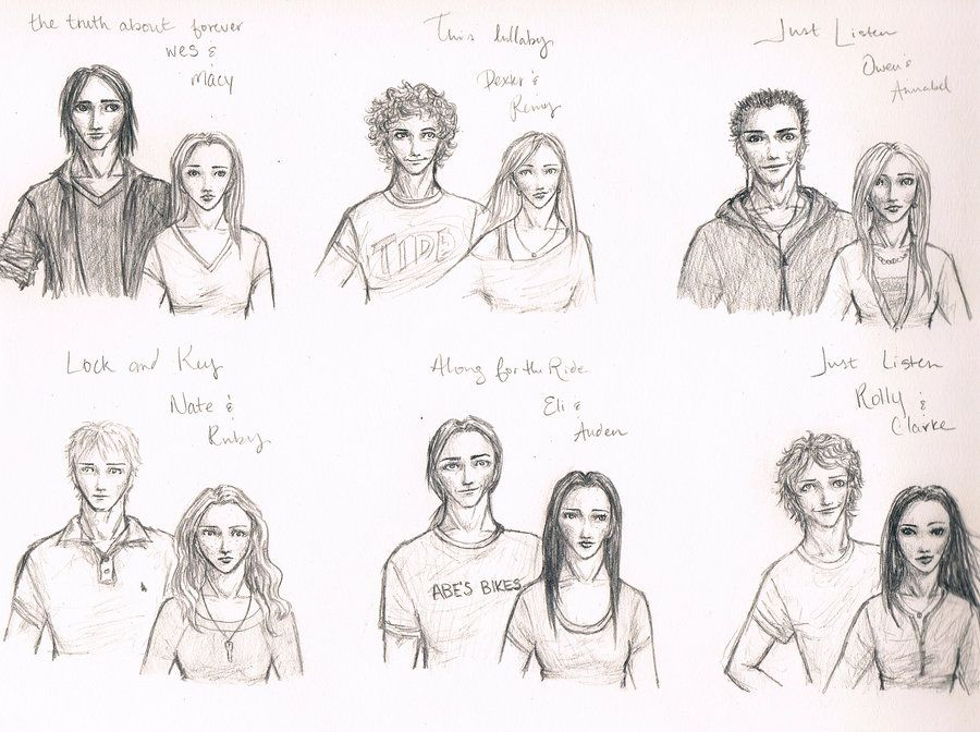 sarah dessen characters