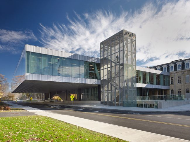 a disaster? koolhaas' new cornell architecture building leaks, not