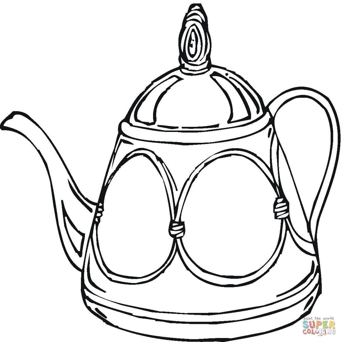 Teapot Coloring Page Free Printable Coloring Pages Coloring Pages Free Printable Coloring Pages Printable Coloring Pages