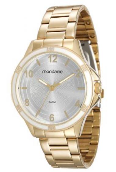 6f3928f7a13 83319LPMVDE1 Relógio Feminino Mondaine Analógico Dourado