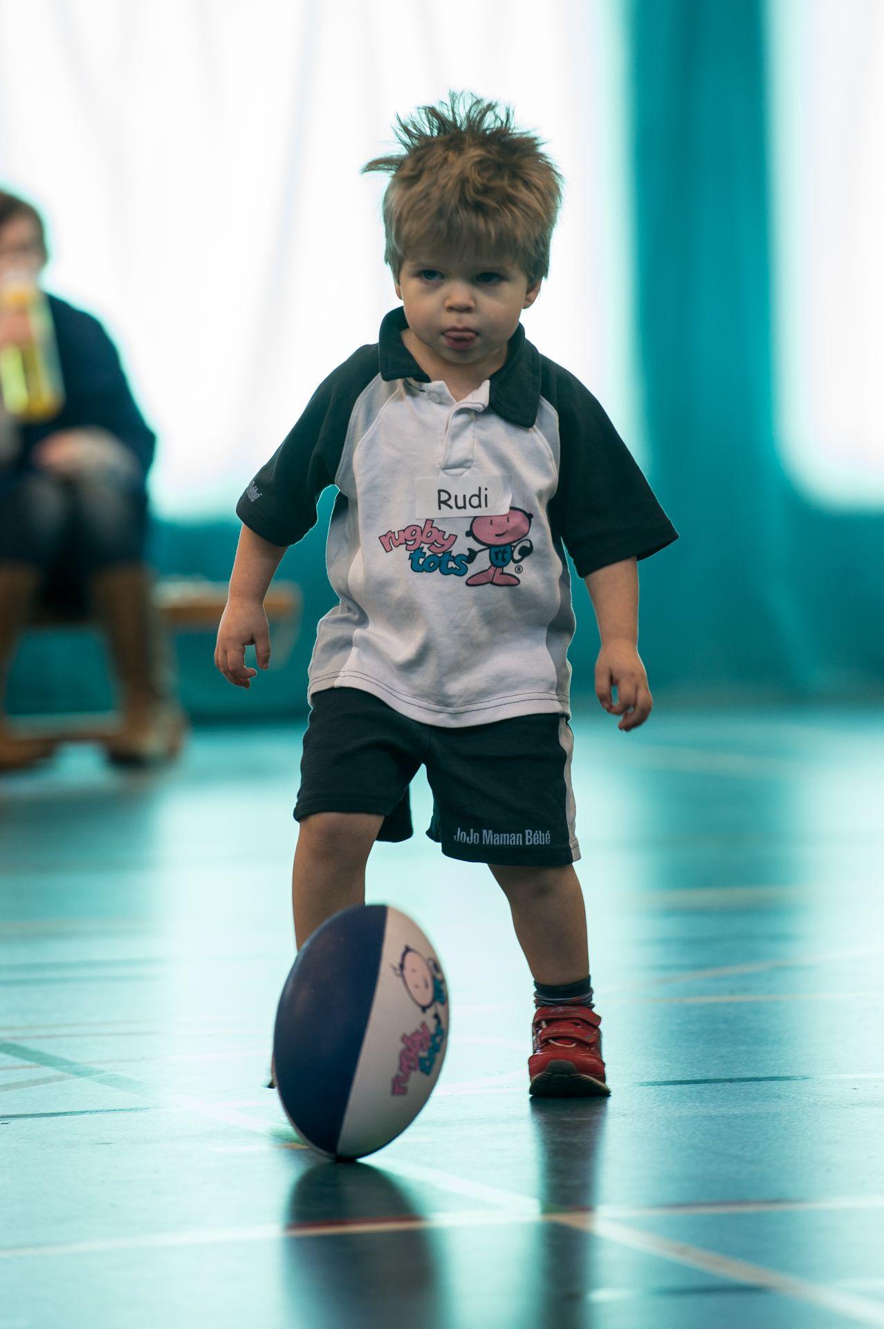 Kicking skills.