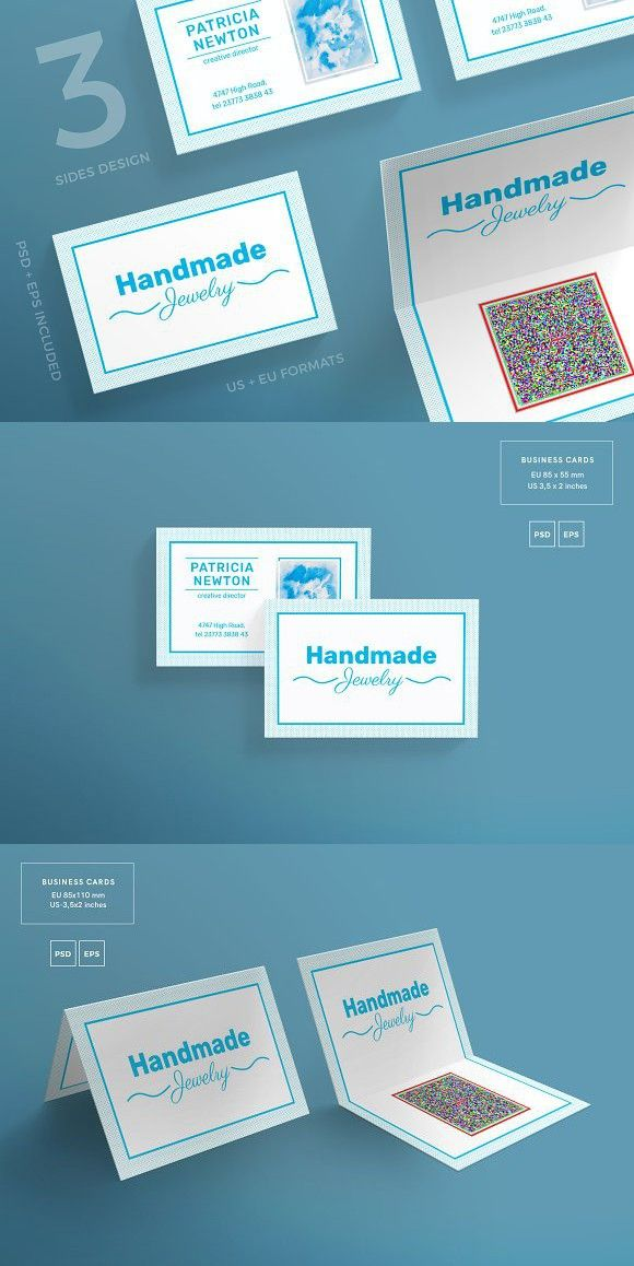 Business Cards Handmade Jewelry Business Card Templates