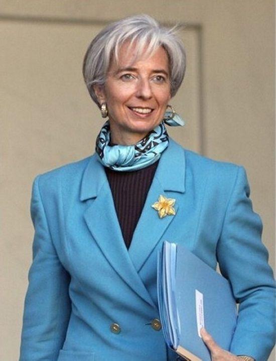 Christine Lagarde Mature Hairstyle My Hair In 2019