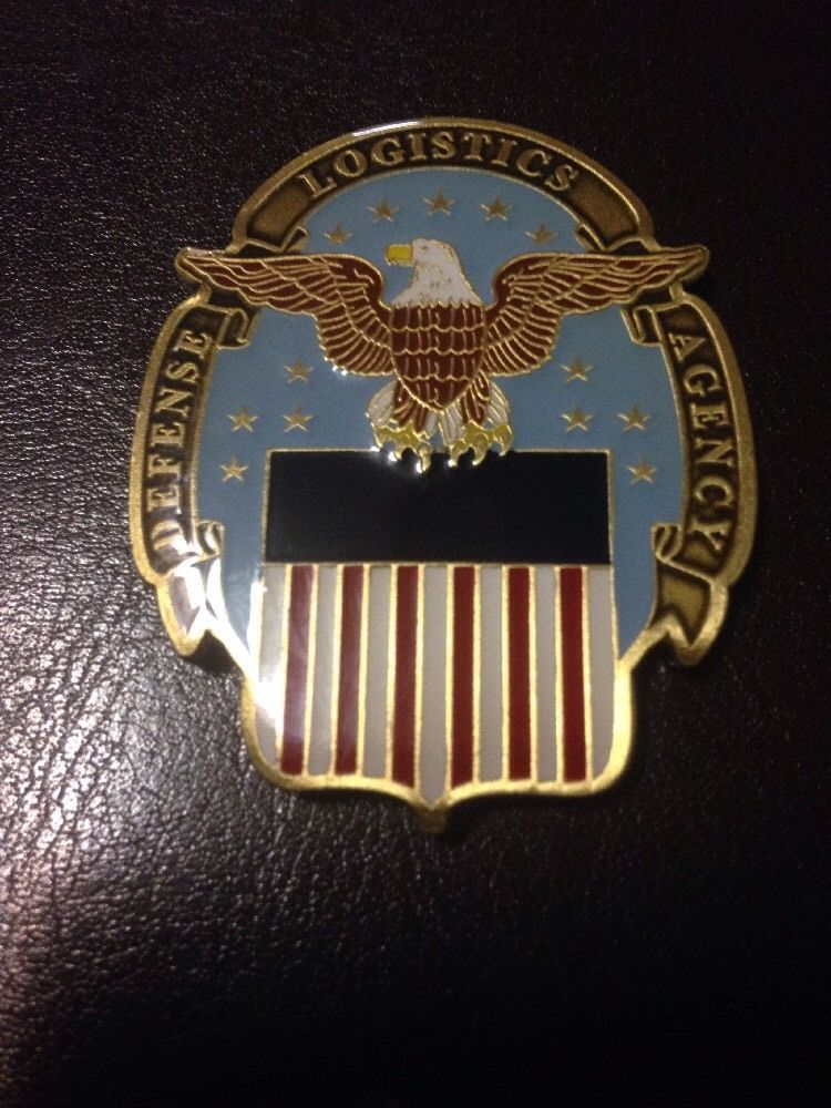 Defense Logistics Agency Challenge Coin For Excellence Ebay Military Challenge Coins