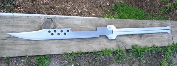 Berserker Sword From Battle Angel Alita Battle Angel Alita