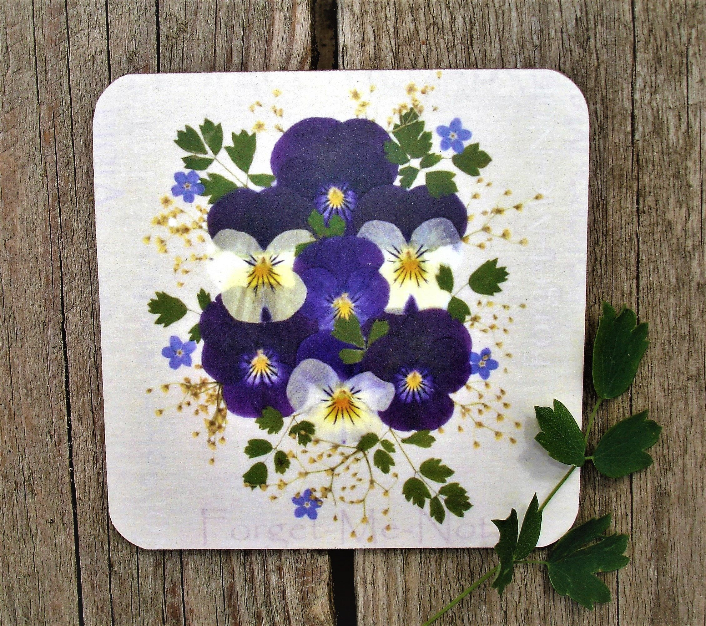 Christmas Gift Ideas, Floral Coaster, Mum Christmas Gift Ideas, Drinks Coaster, ... #secretsantagiftideas