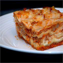 Wondrous Easy Lasagna I Use Ground Turkey Instead Extra Ricotta Home Interior And Landscaping Ologienasavecom