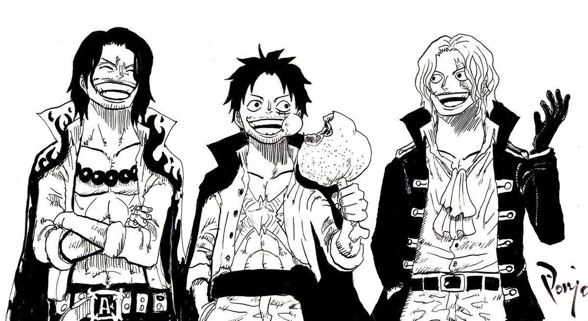 One Piece: Băng Mũ Rơm khi già đi trông sẽ như thế nào, câu trả lời tham khảo đã có rồi đây - Ảnh 4.