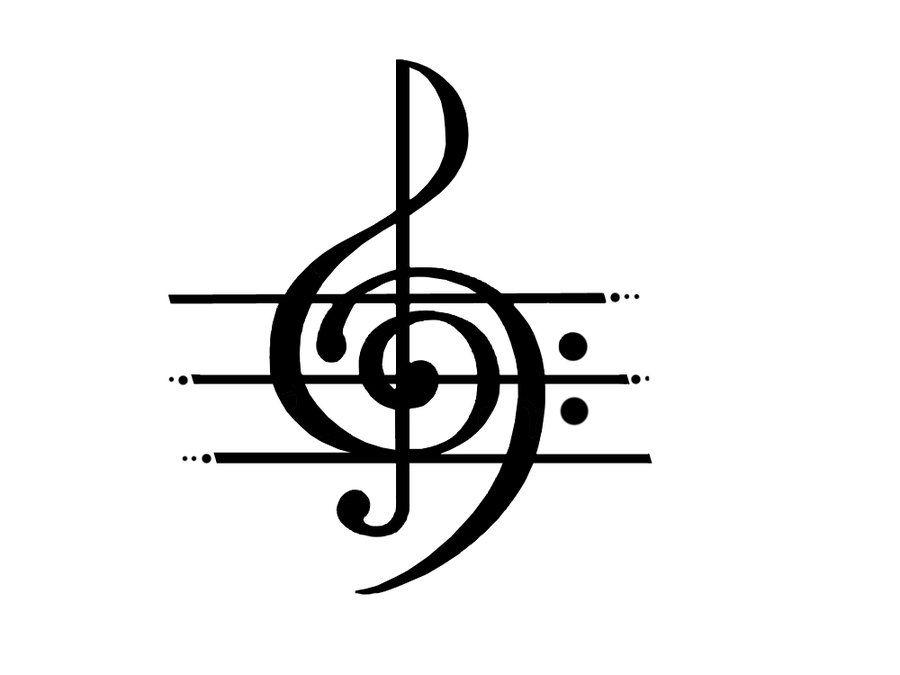 music clipart 4 by ladyeru deviantart com on deviantart tattoos rh pinterest co uk musical clip art musical clip art for free