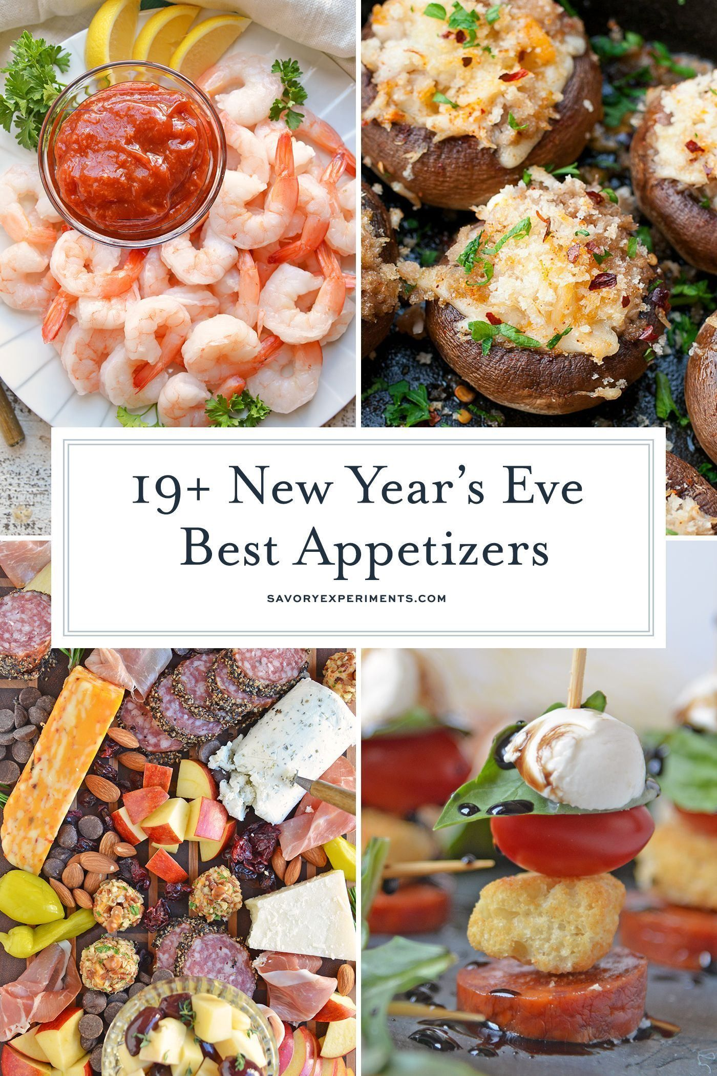 newyearsevefood in 2020 New year's eve appetizers, New