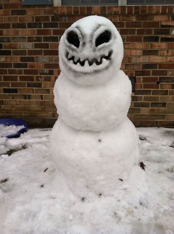 92 Hilariously Creative Snowmen That Would Make Calvin And ...