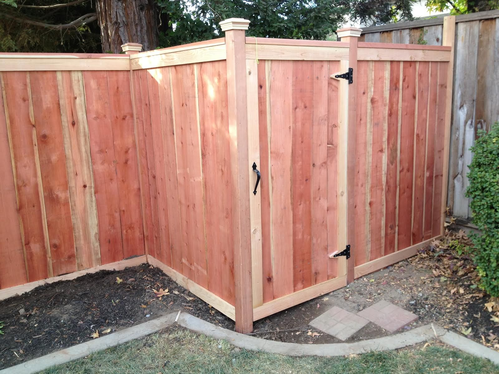 What could be behind this gate? A. Yard tools B. Garden supplies C ...