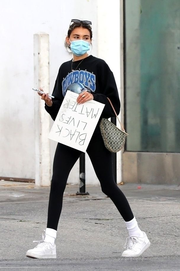 Madison Beer Protesting May 30 2020 Star Style Madison Beer Outfits Madison Beer Style Beer Outfit