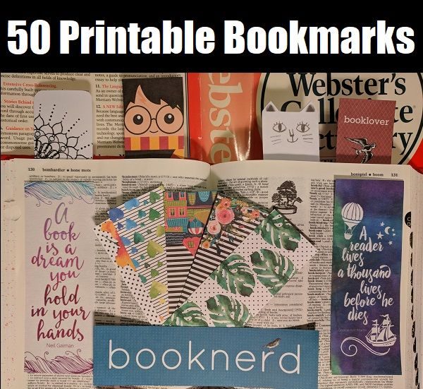50 Of The Cutest Free Printable Bookmarks Online Right Now Diy