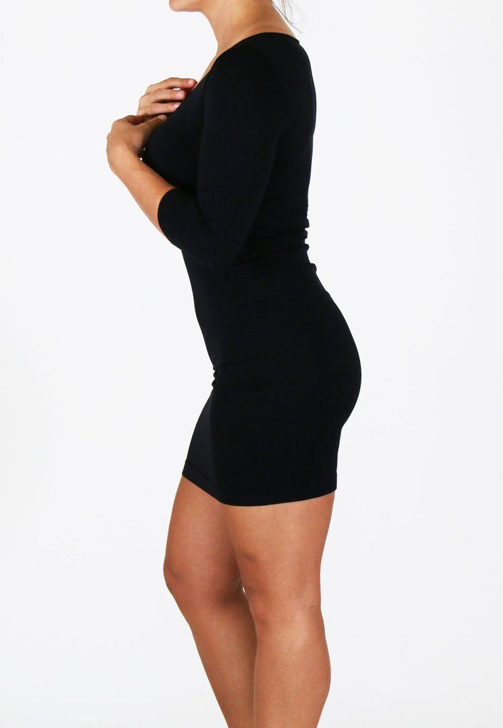 Every Girl Needs A Little Black Dress This Rebellia Long Sleeve