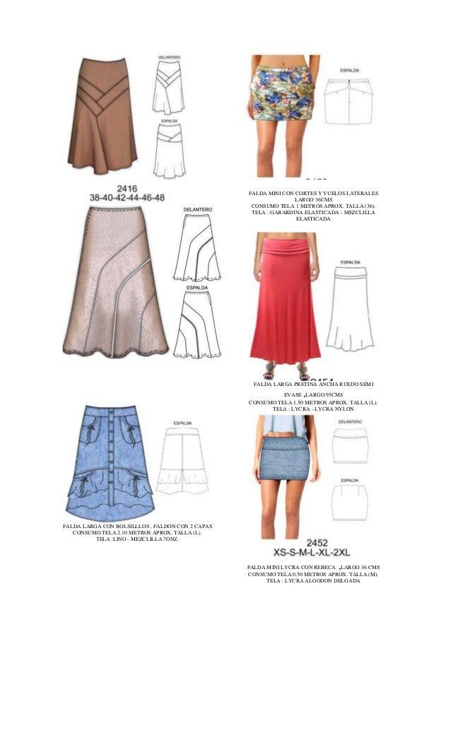 modelos de faldas cortas para hacer - Buscar con Google | ropa ...
