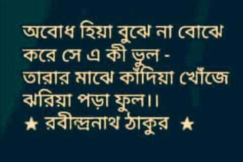 Pin by G T on Quotes. | Bangla quotes, Poem quotes, Love ...