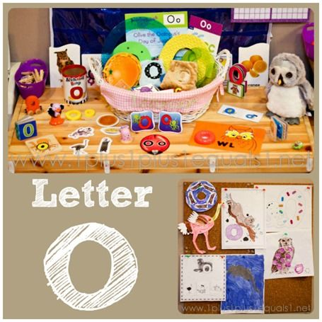 Preschool At Home Letter O Homeschool Tot School And Activities