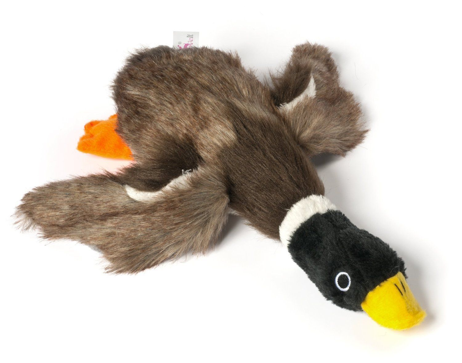 Dogloveit Mallard Duck Squeaky Dog Toys For Small Dogs Plush Dog