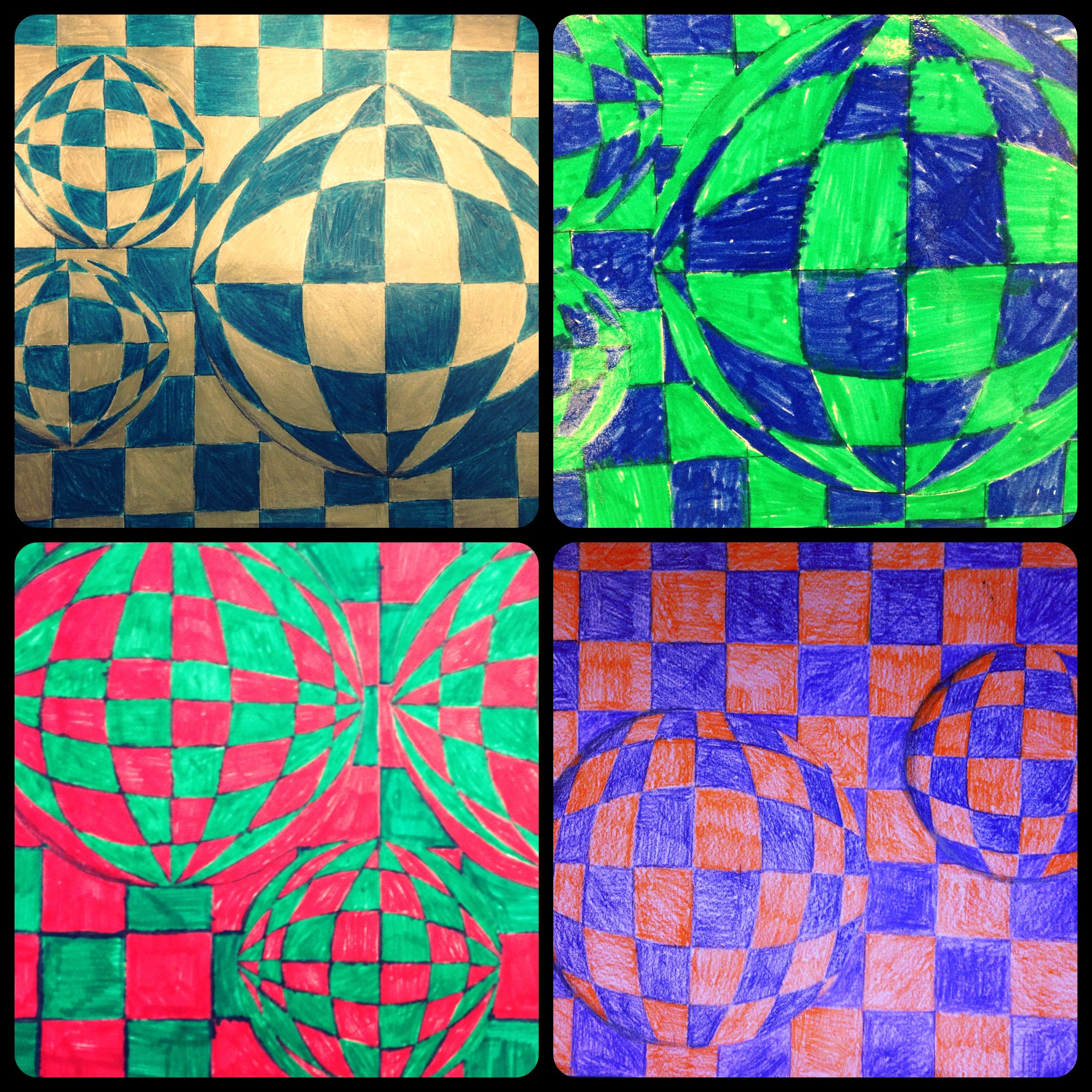 Op Art Optical Illusion Art Special Education Student