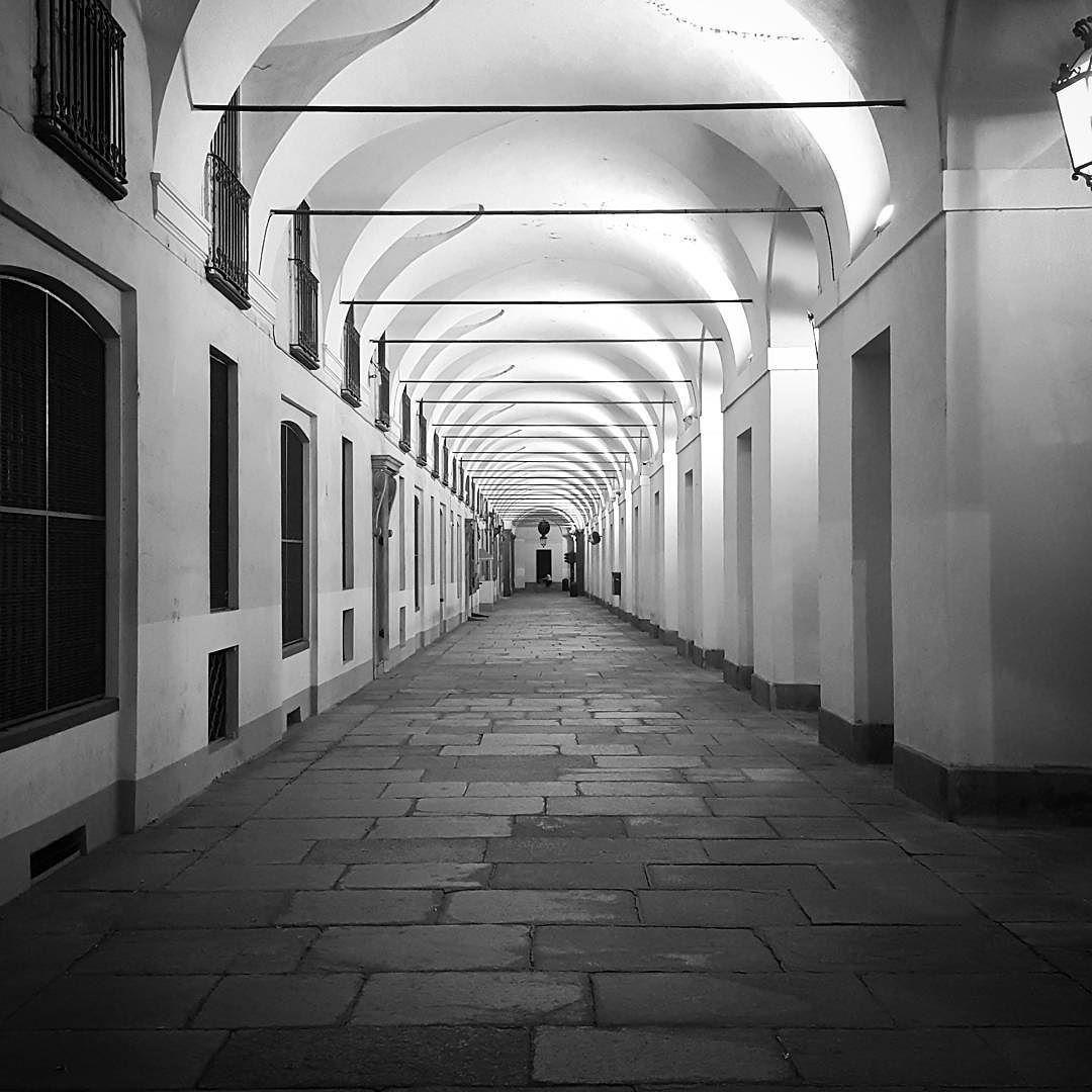 #Torino #Turin #urbansafari #piazzaCastello #seemycity #igerstorino #night #lights #shadows #vanishingpoint