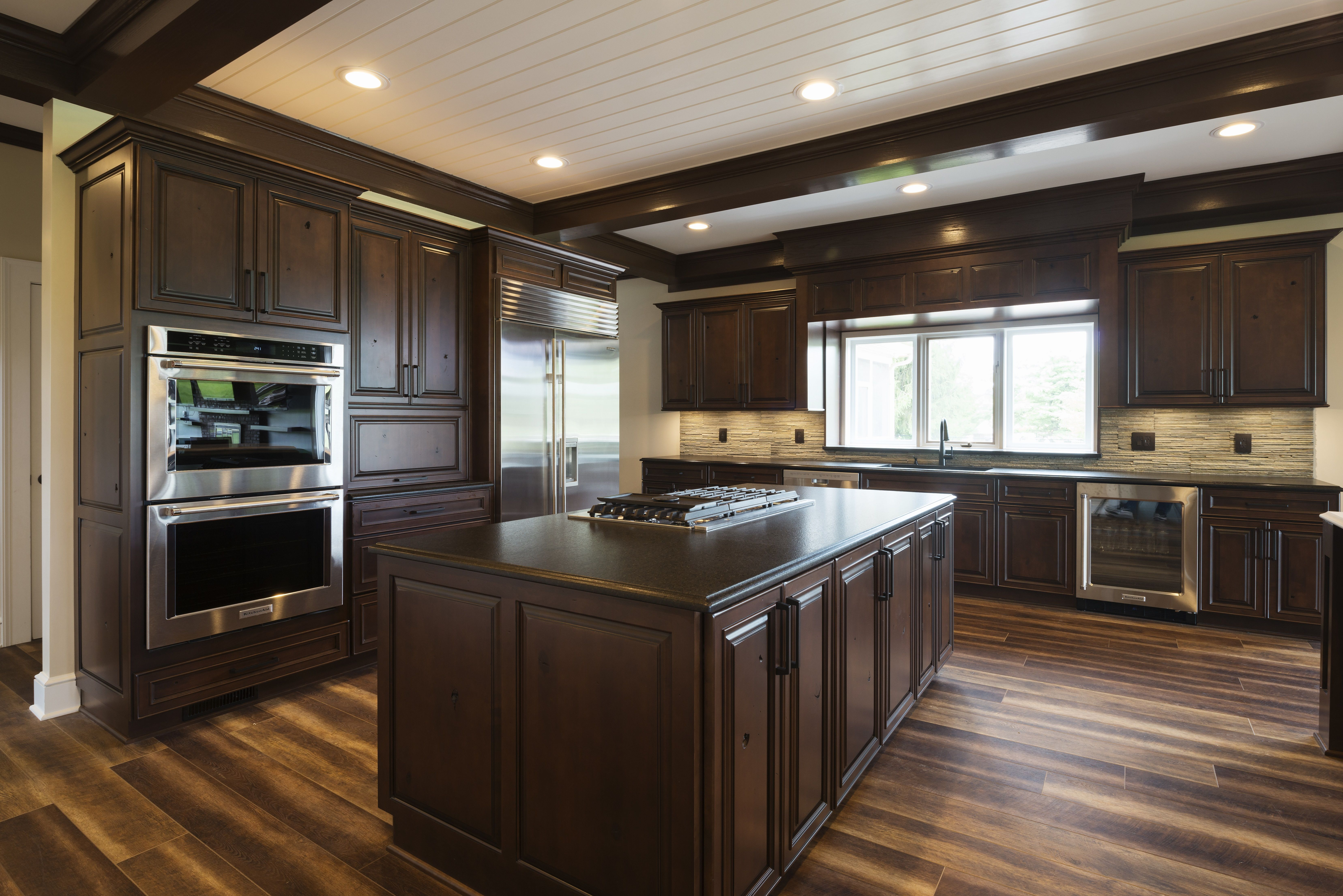 Badezimmer eitelkeiten vermont traditional kitchen remodel in indiana wood floors stained