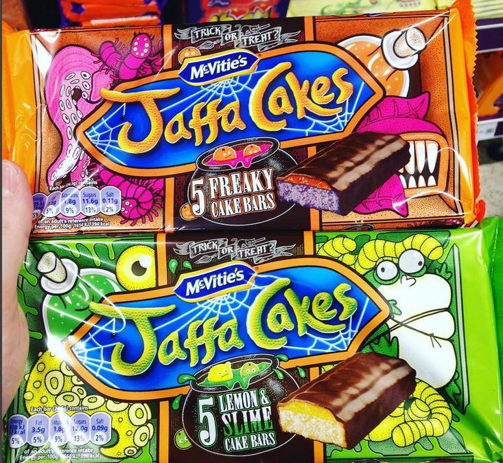 McVitties Halloween Jaffa Cakes , Freaky Cake and Lemon