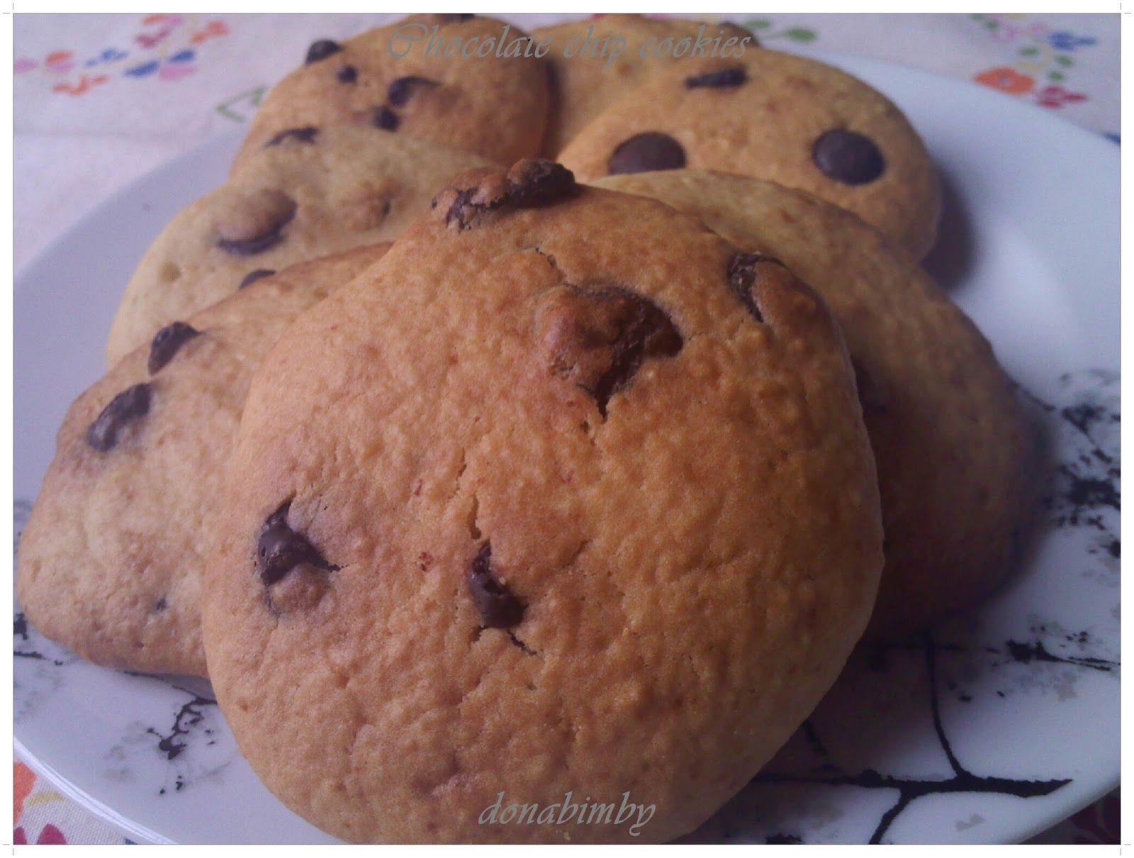 donabimby: Chocolate chip cookies / Bolachas com pepitas de chocolate