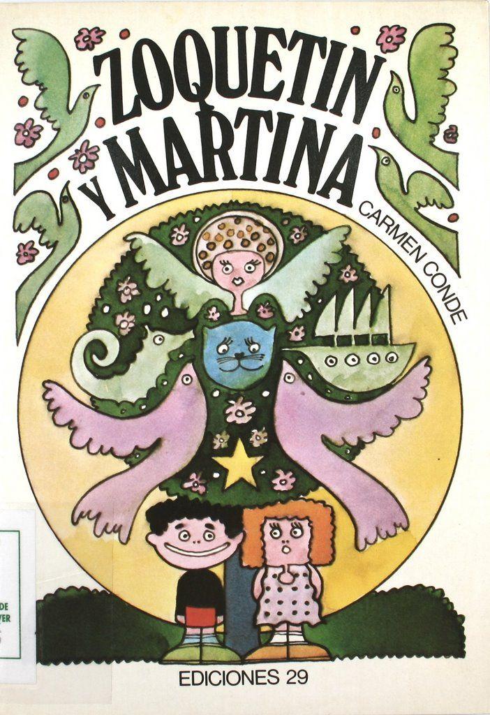 """""""Zoquetín y Martina"""", il., Carlos Torres, Barcelona, Ediciones 29, 1979 (La peonza de papel)."""