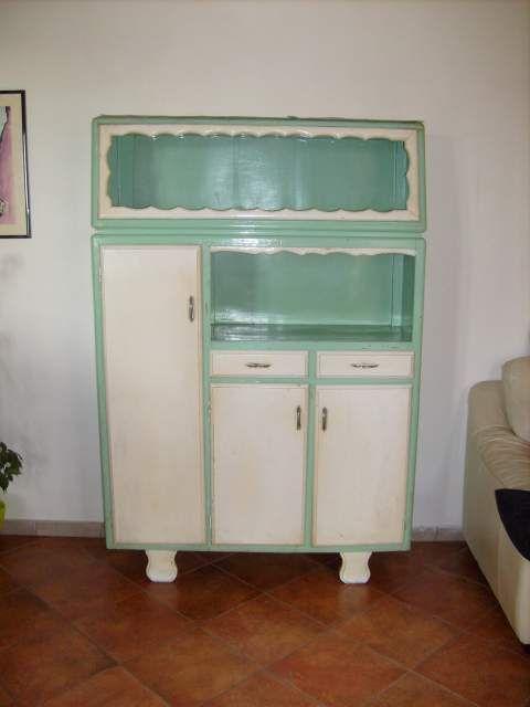 Gallery of credenza da cucina anni 40 50 da restaurare a chiaia ...