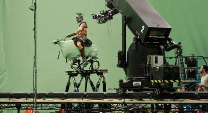 Behind the scene of '300' movie