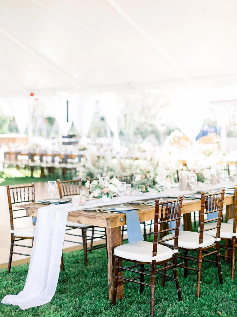 Carrie Evan Wedding Linen Rentals Wedding Table Linen Runners Chair Covers Bbj Linen Beautiful Outdoor Wedding Wedding Table Linens Outdoor Wedding
