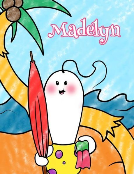 Madelyn: Personalized Children\'s Coloring Book, Ima Gonna Color My ...