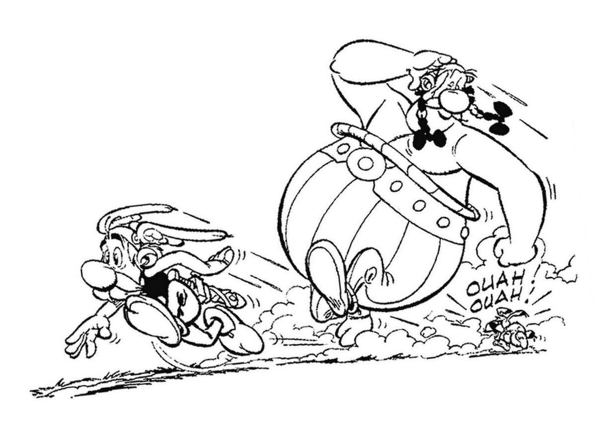 Asterix Et Obelix Coloriage Ausmalbilder Malvorlagen Ausmalen