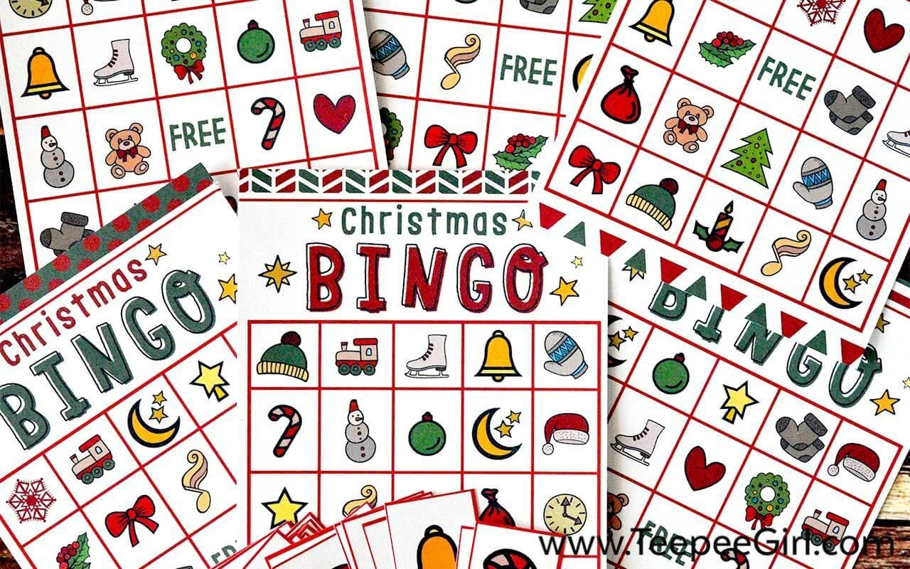 Free Christmas Bingo Printable Game