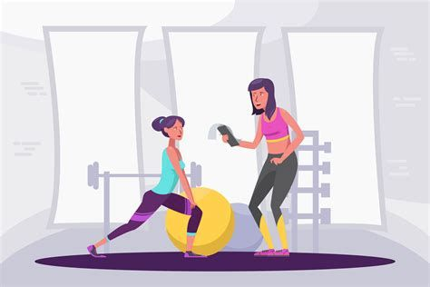 Fitness Illustration Gym #fitnessmotivation #fitness #motivation