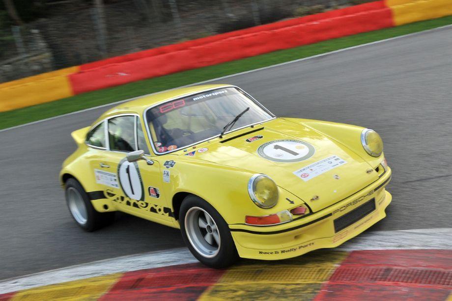 Porsche 911 Carrera RSR at Spa Six Hours 2013 Porsche