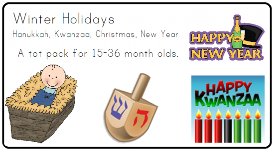 Winter Holidays Tot Pack product from