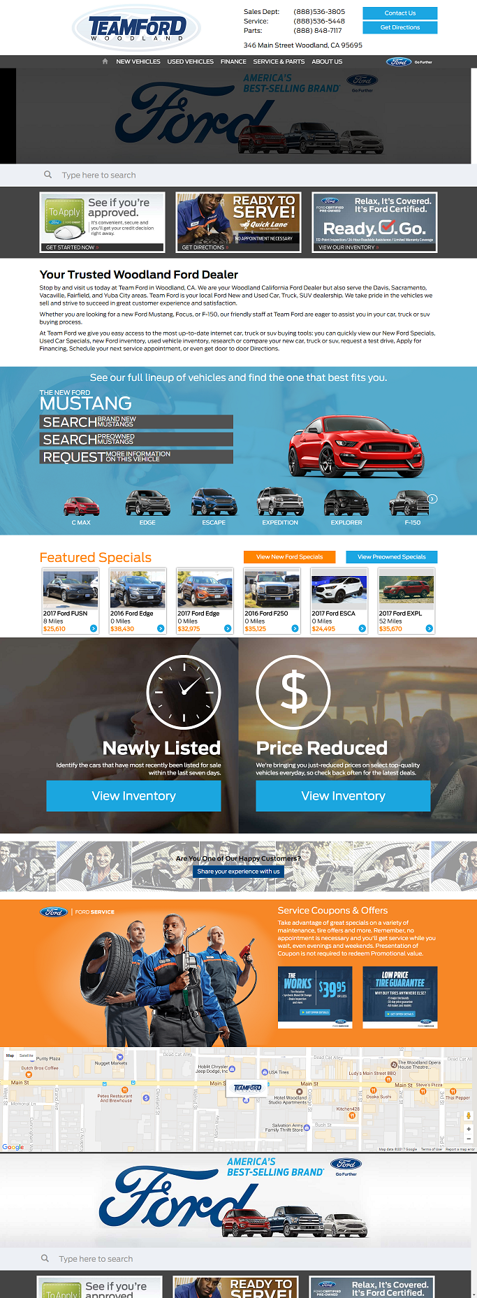 Teamford Woodland Are Woodland California Ford Dealer But Also