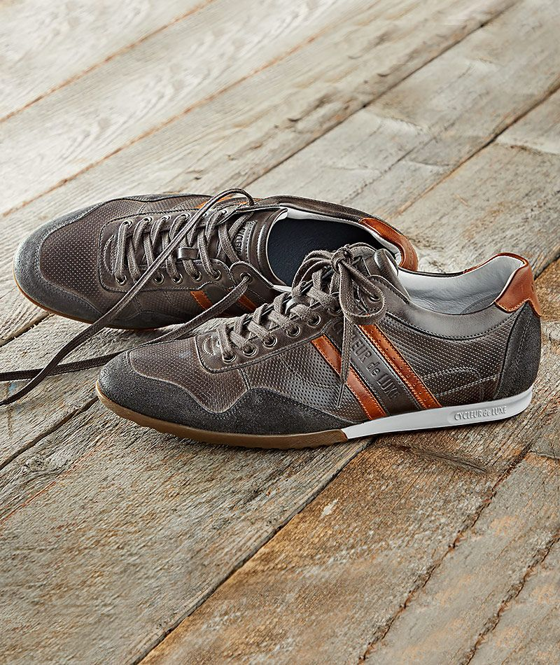 438ce4190d5 Men's Cortado Sneaker - Update your sneaker collection with this downtempo  shoe made of supple, full-grain leather that offers sophisticated color  contrast.