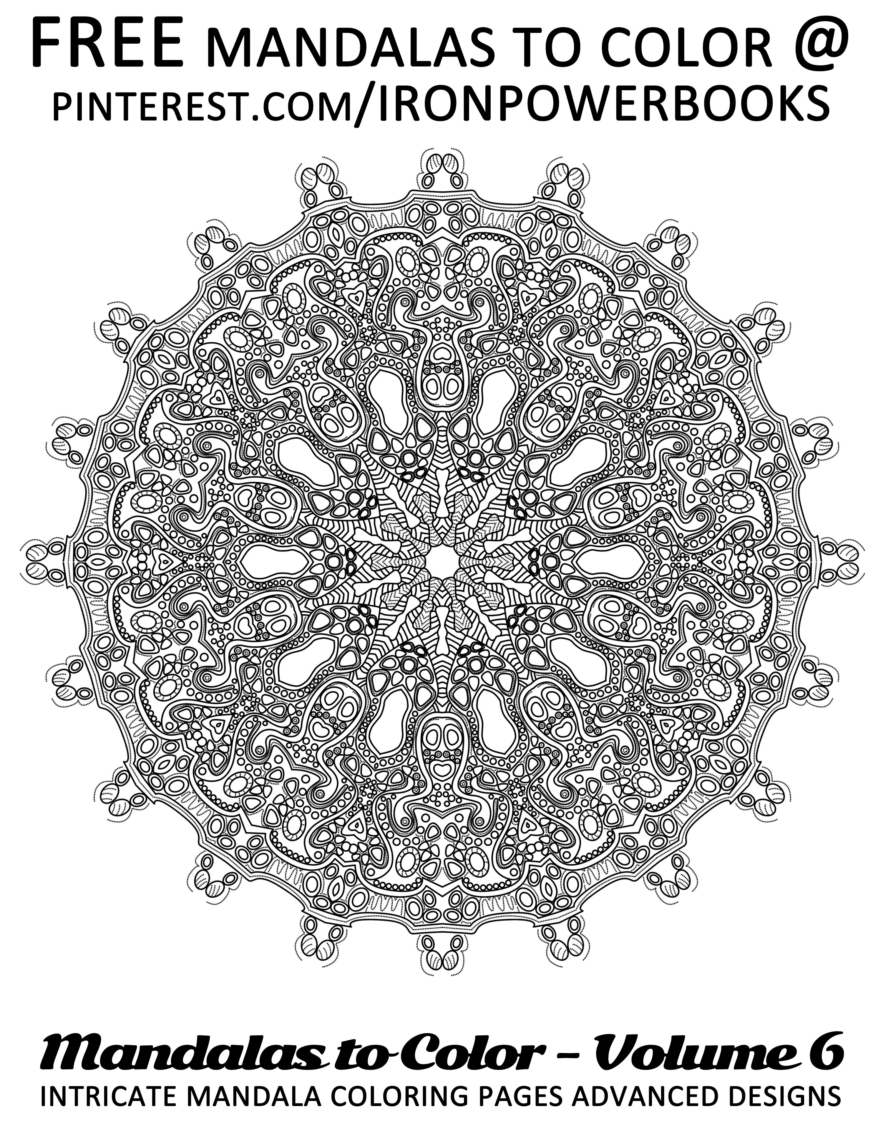 Free Mandala Design To Print And Color Click Here For 49 More Mandalas You Can Color Http W Mandala Coloring Pages Mandala Coloring Books Mandala Coloring