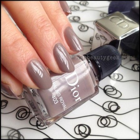 Dior polish Palais Royal 403. For the full collection, click thru to  imabeautygeek.
