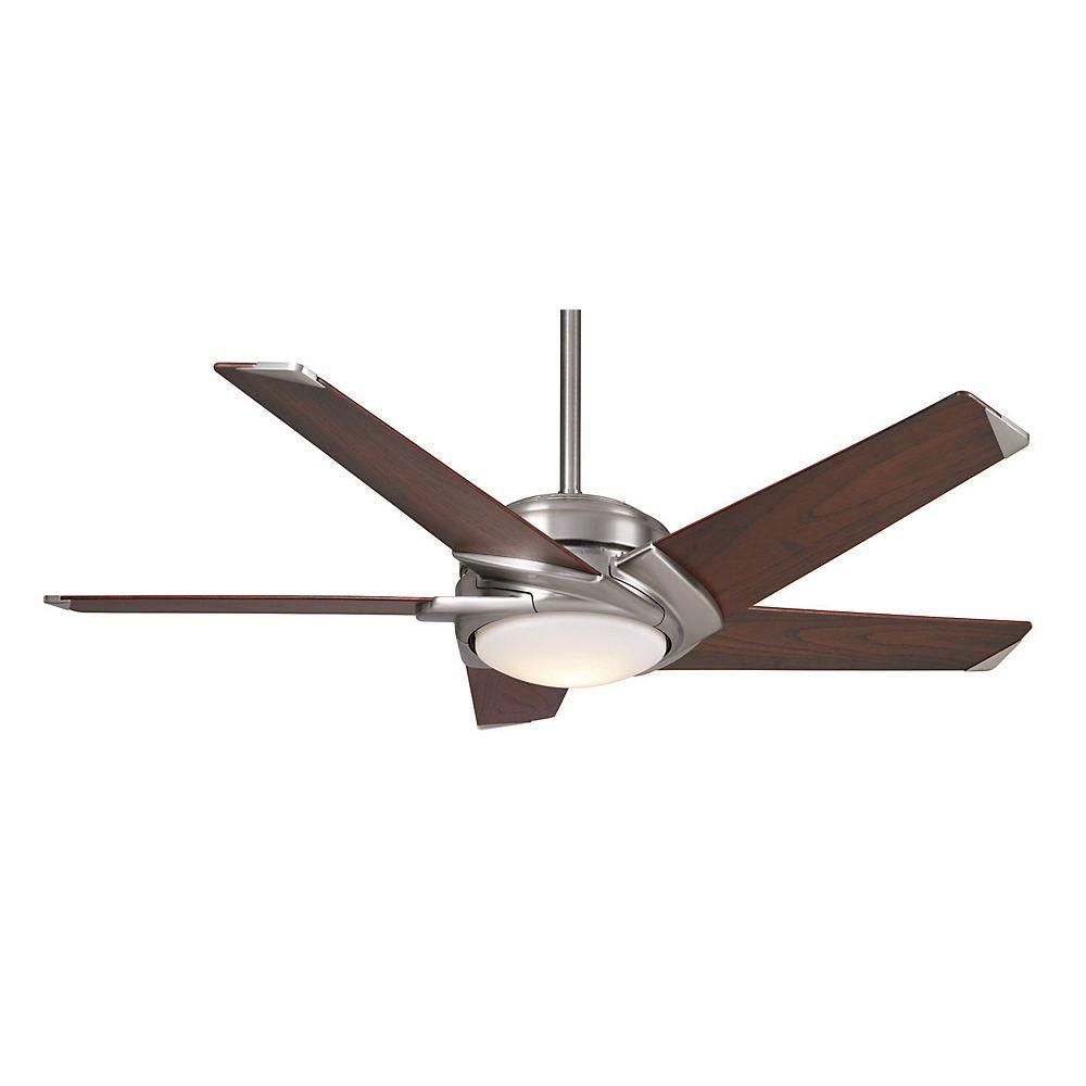 Casablanca Stealth DC 54 in. Brushed Nickel Indoor LED Ceiling Fan-59164
