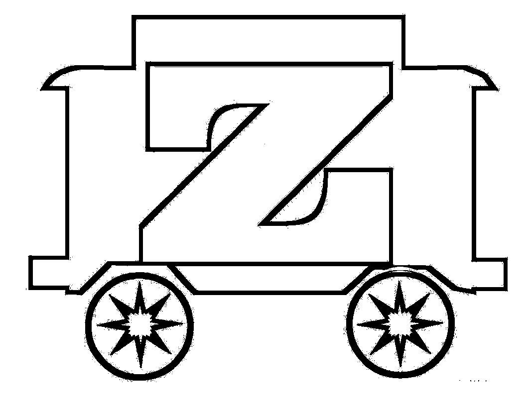 Trains Alphabet Train With Letters Z Carriages | Trains Alphabet ...