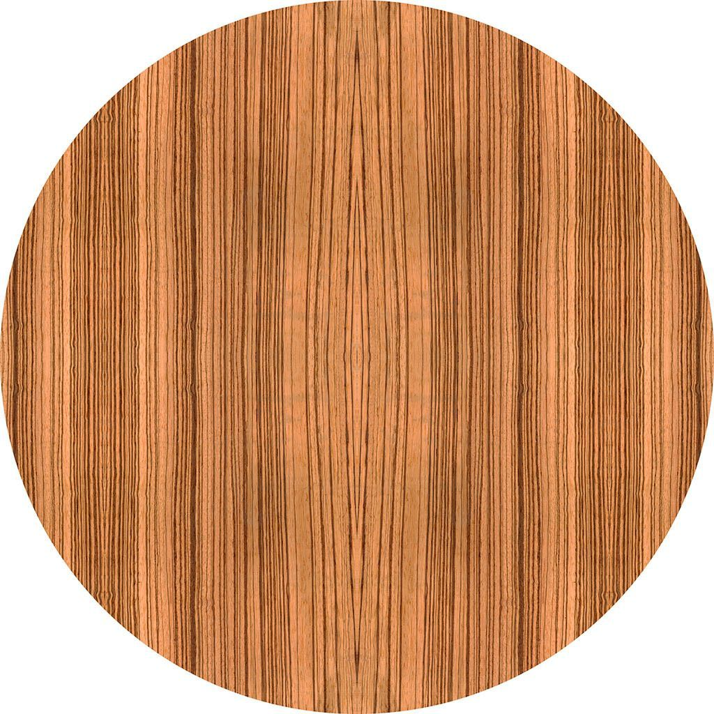 Zebra Wood Nature Themed Fabric Wall Sticker (Circle)